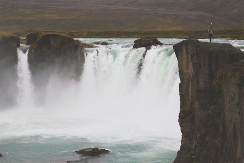 Godafoss - waterfall of the gods