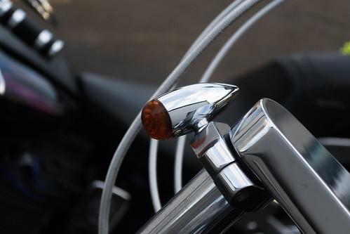 Harley Davidson motorbike detail ! - Aug.2016