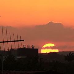 Direto da vila social - #cabodesantoagostinho  #sunset