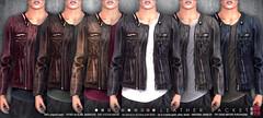 [Deadwool] Leather Jacket