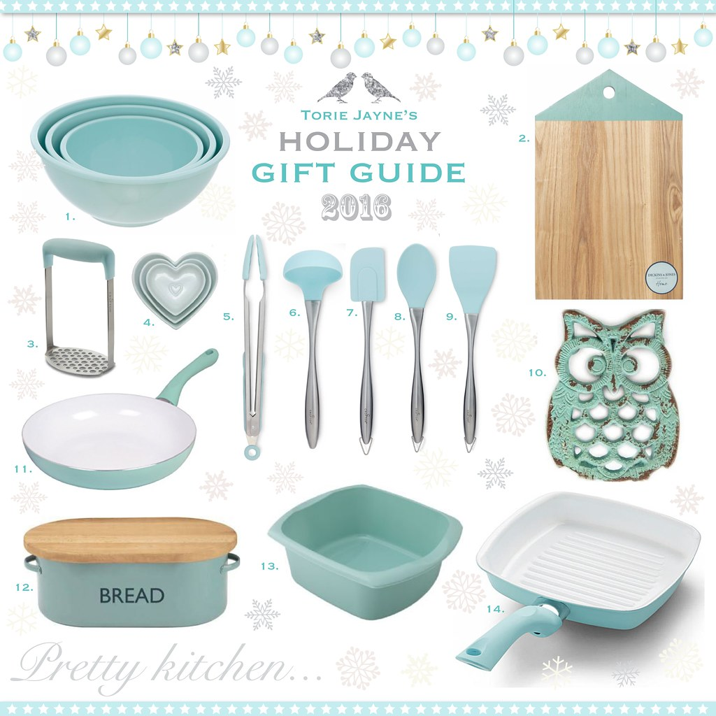 Pretty Kitchen...Gift Guide 2016