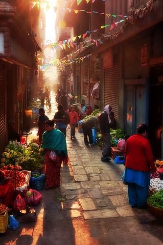 Nepal - Kathmandu - Streetlife - 53d