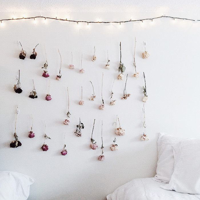 ideas decorar paredes flores 1