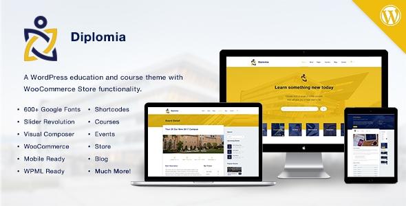 Diplomia v1.0.2 - Education WordPress Theme