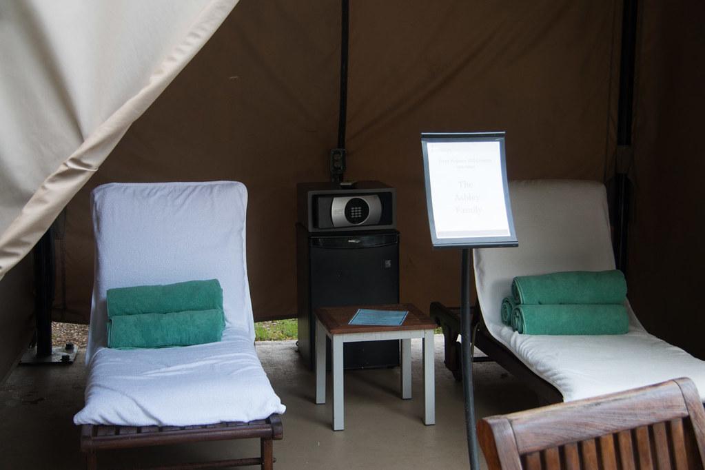 Cabana rental option