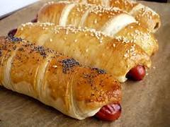 bagel hot dog style
