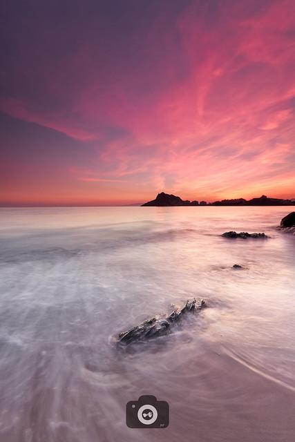 Atardecer. Playa Amarilla, Canon EOS 80D, Canon EF-S 10-22mm f/3.5-4.5 USM