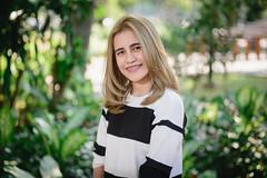 Girl Portrait at Jatujak park Bangkok