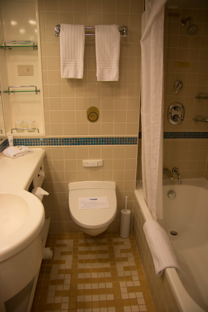 Bathroom in mini suite