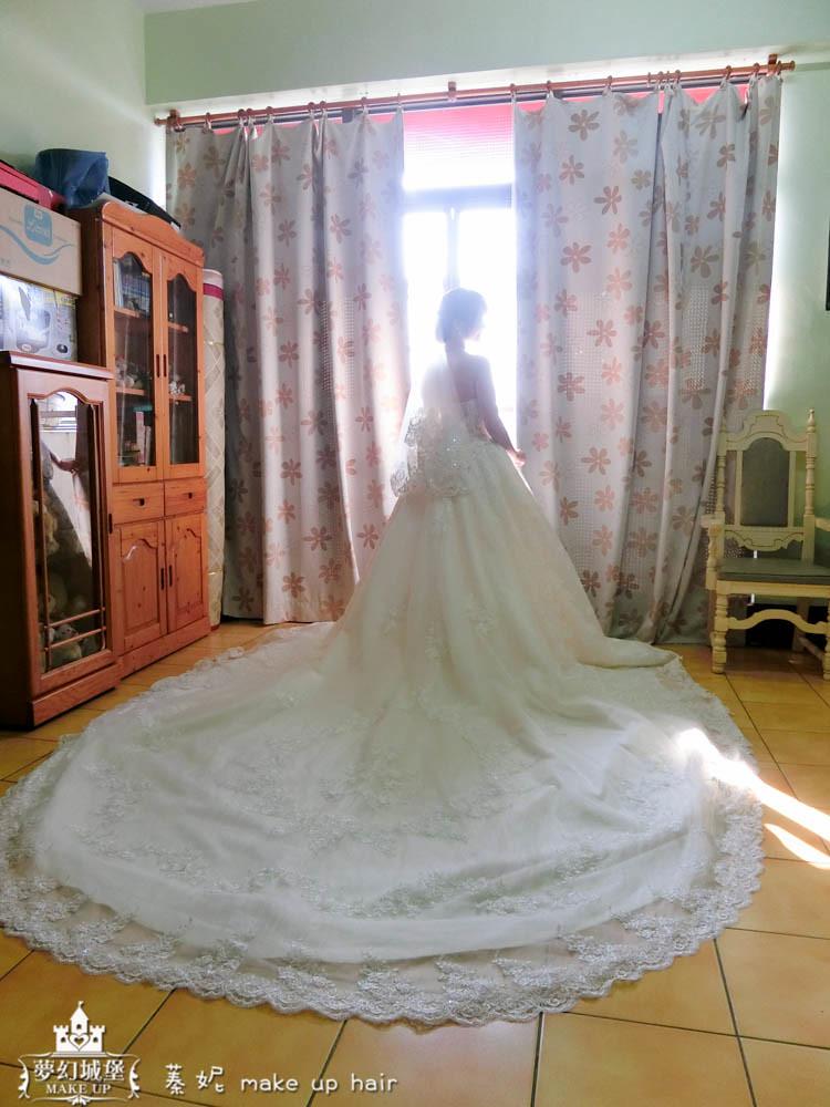 【新秘蓁妮】bride博雅 結婚造型 / 台中林酒店