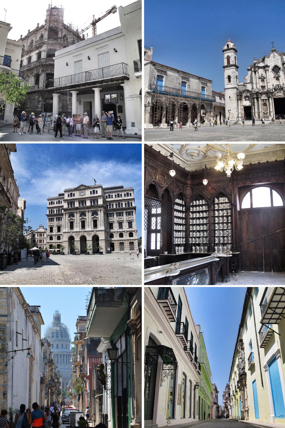 habana vieja_plaza de armas_plaza vieja_plaza catedral_plaza san franciso de asis_restauracion