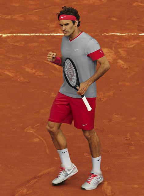 Roland Garros 204: Roger Federer outfit