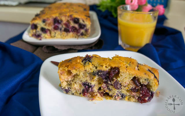 Holiday Berry-Nut Cake