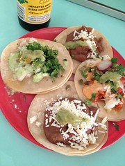 produce(0.0), falafel(0.0), tostada(1.0), meal(1.0), breakfast(1.0), flatbread(1.0), taco(1.0), food(1.0), dish(1.0), cuisine(1.0),