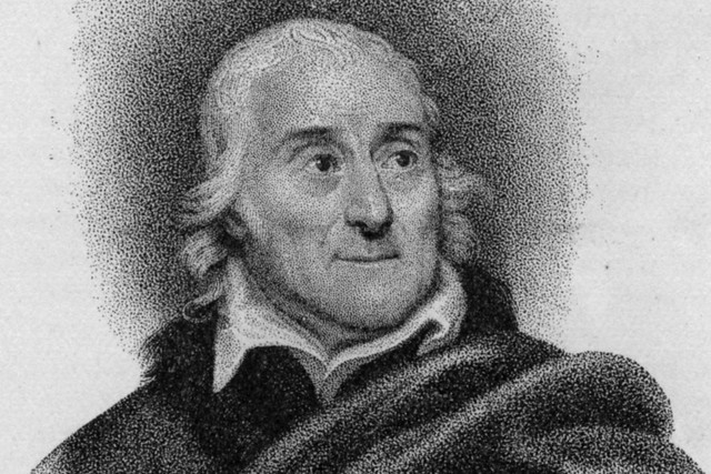 Lorenzo da Ponte by Michele Pekenino after Nathaniel Rogers c. 1830