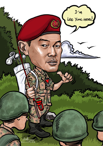 digital caricature for SAF