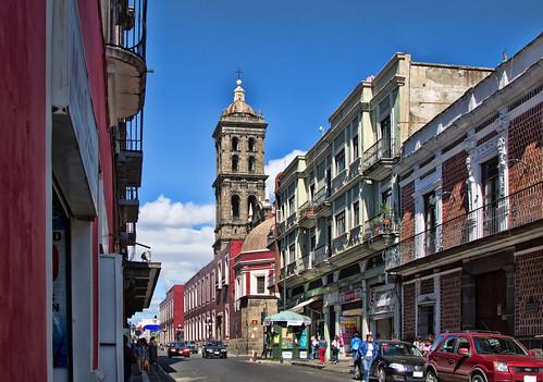Calle 5 Oriente, Puebla, Pue.