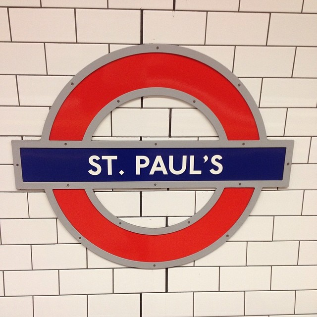 Heading home. Back in for an early shift tomorrow #london #tube #stpauls #tired