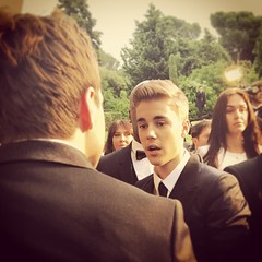 I think #JustinBieber was excited to meet me #amfAR #cannes #Bieber #celebrity #showbiz #backofmyhead