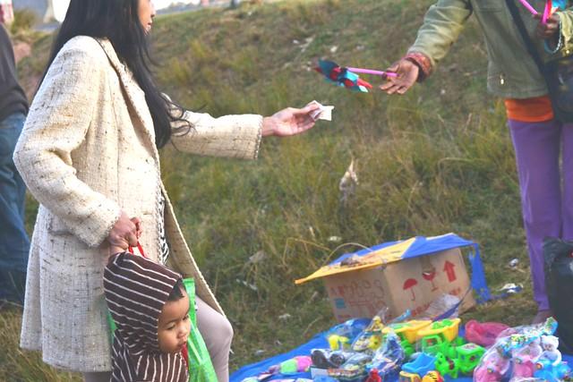 vendeuse de jouets