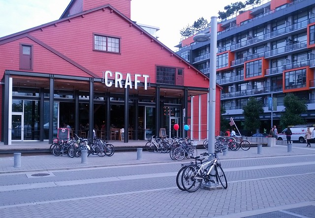 Overflow Bike Parking at Craft