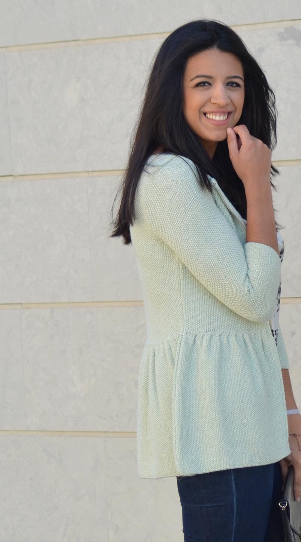 florenciablog working girl mint inspiration fashion blogger spain clutch zara look  (5)