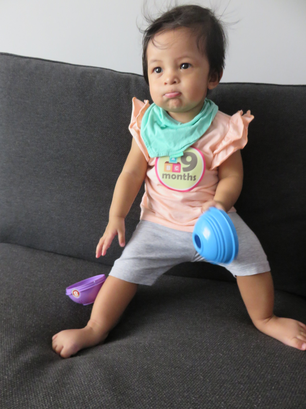 1 June 2014 - Zara at 9+ month