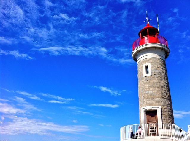 Faro de Saint-Tropez (Francia)