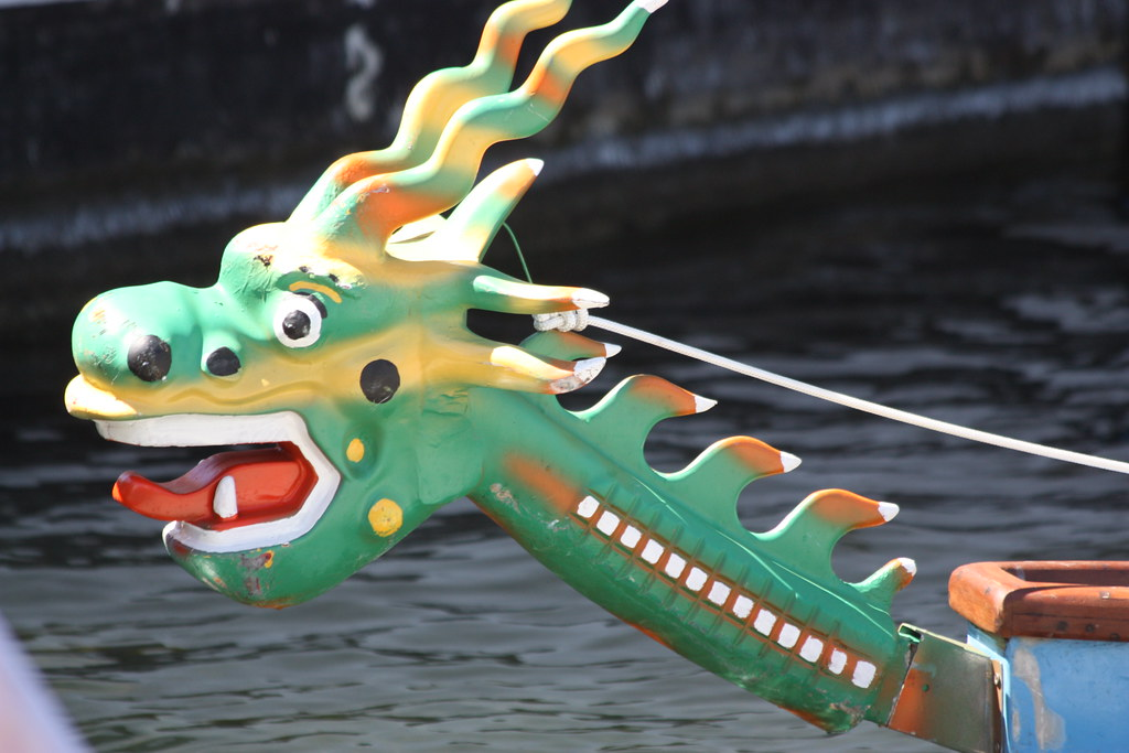 World Corporate Games 2014 Dragonboat 250m: Dragons Head
