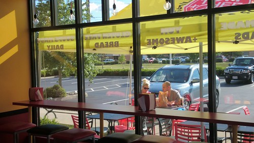 Seating at TOM+CHEE (Hilliard, OH)