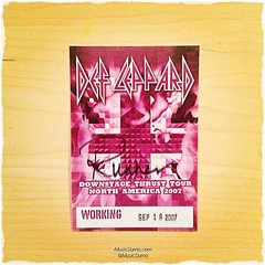 Def Leppard - 09/18/07 #tbt #throwback #throwbackthursday #musicsumo
