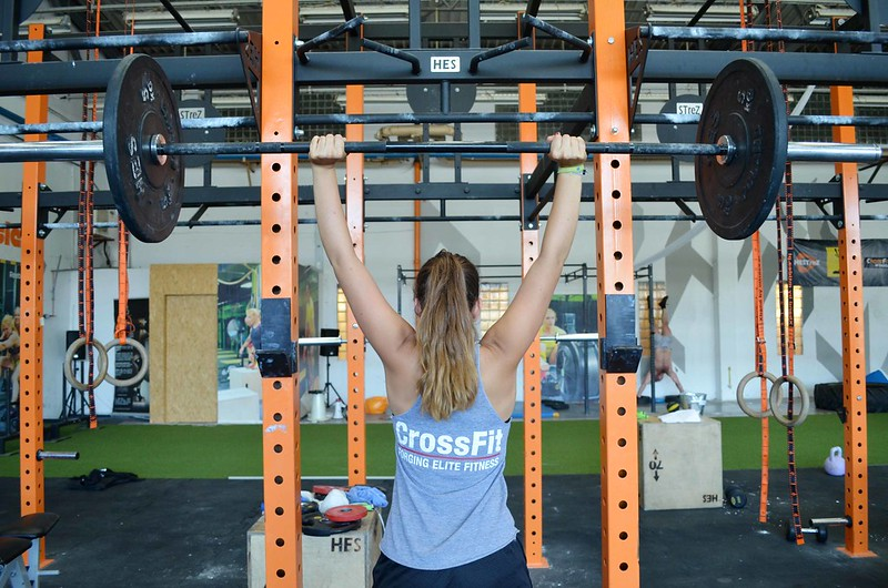 Foto de CrossFit levantamiento press
