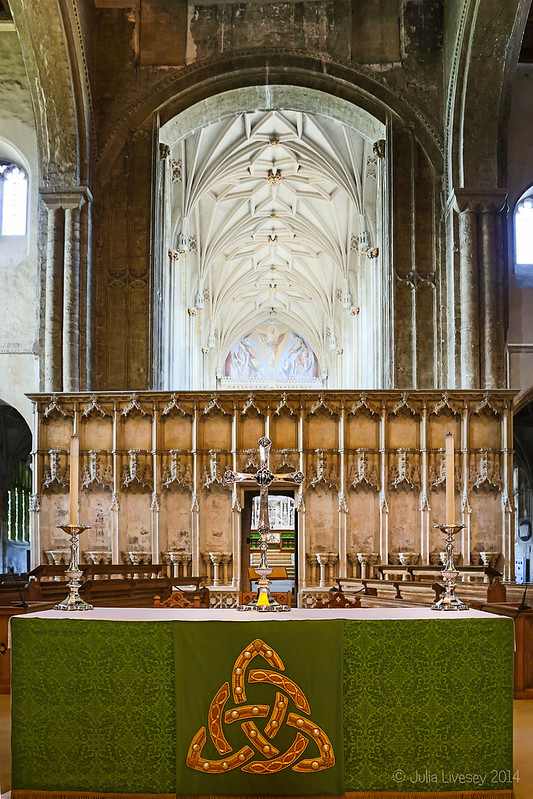 Altar and Quire Screen
