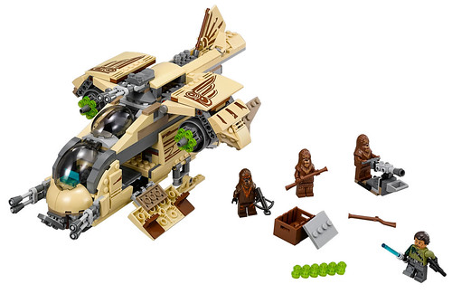 Star Wars 75084 Wookie Gunship