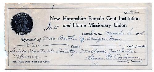 New Hampshire Female Cent Society