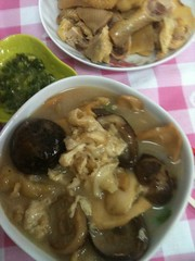 seafood and mushroom soup