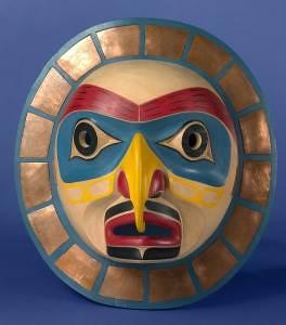 Kwakiutl Sun Mask by Gene Brabant. Canada.