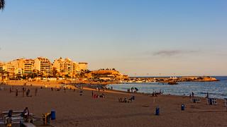 Image of Playa de Poniente Poniente Beach. dxo espagne vacance benidorm 2014 editedphoto createdbydxo