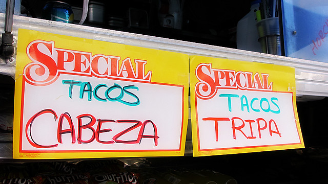 Daily Specials at Tacos La Carreta in Des Moines, Iowa