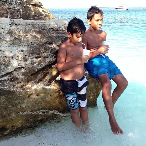 Bora Bora adalarına gitmeye gerek yok ✌