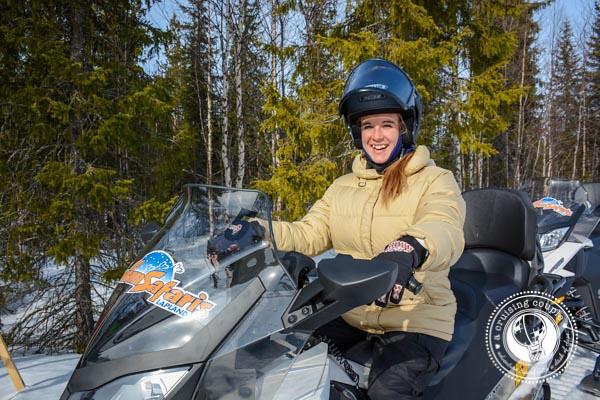 Snowmobiling Yllas