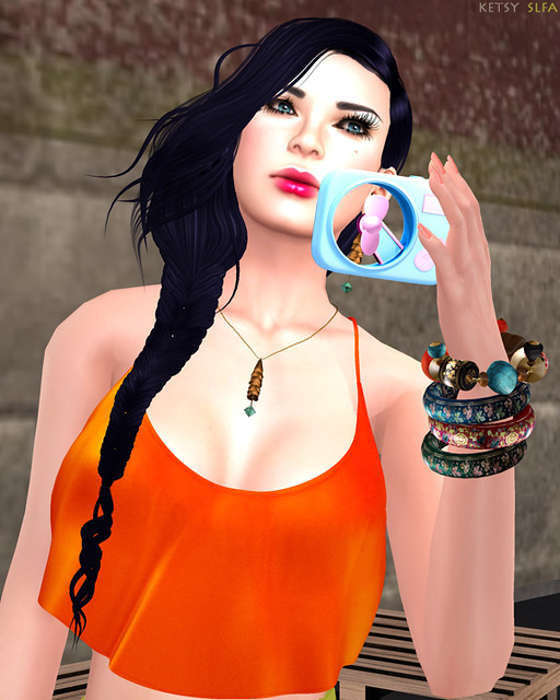 A Little Fan GurL Time (New Post @ Second Life Fashion Addict)