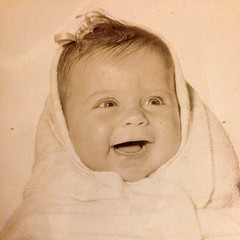 Throwback Thursday - I was about 6 months old. #throwbackthursday #tbt