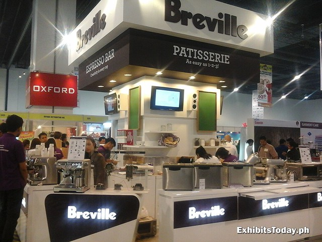 Breville Philippines Trade Show Displays