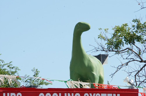Sinclair Dinosaur - Route 66, Amarillo, Texas
