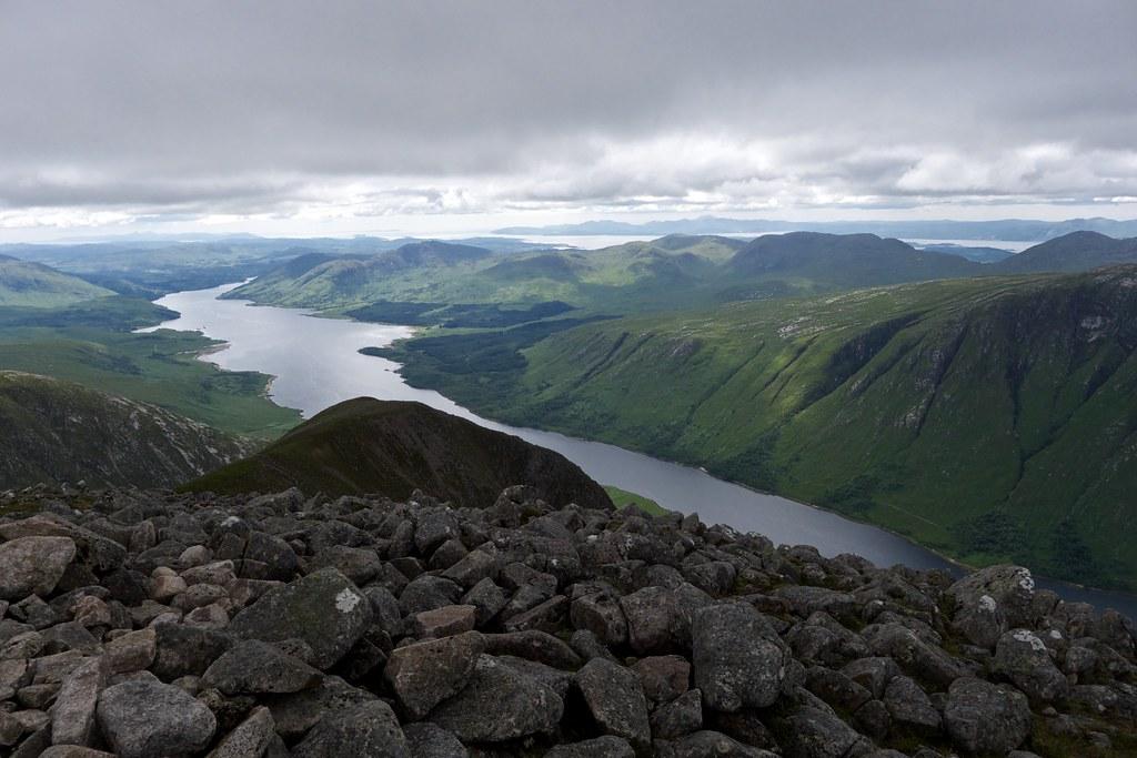 Loch Etive from Ben Starav