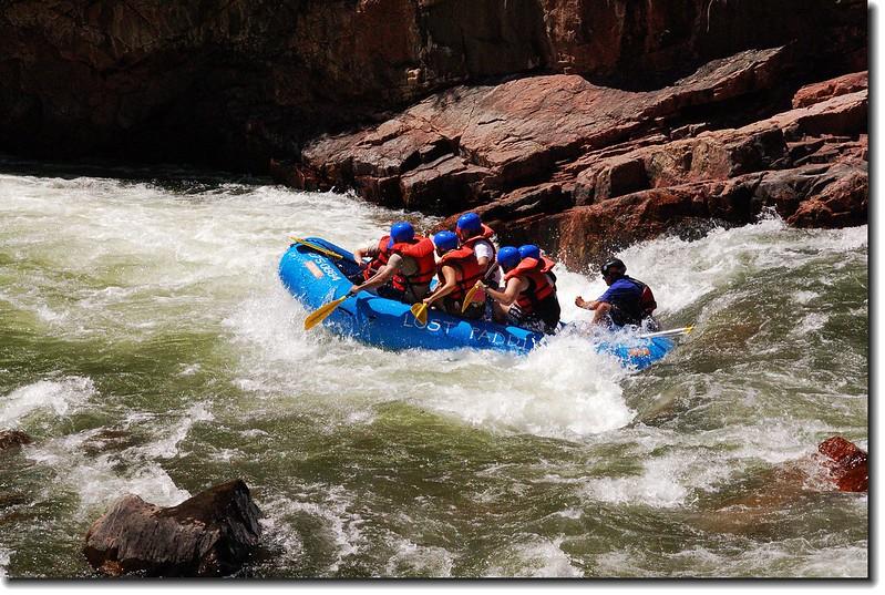 Rafting on the Arkansas River 3
