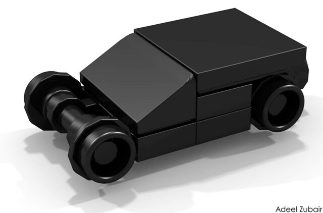 LEGO Minifigure Scale Lego Set - The Tumbler (76023)