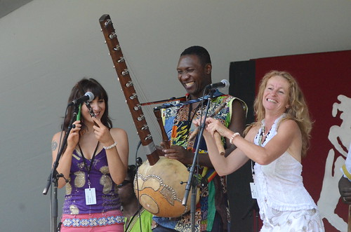 African Music Workshop - Edmonton Folk Music Festival 2014