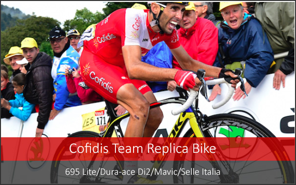 Look 695 Cofidis Team Bike